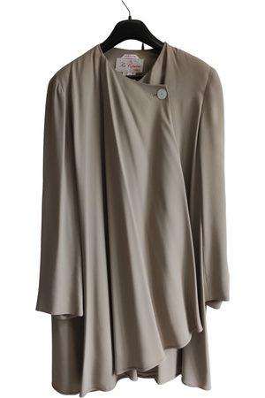 LES COPAINS Viscose Trench Coats
