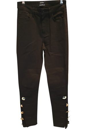 Anthony Vaccarello Cotton Jeans