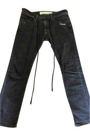OFF-WHITE Cotton Jeans