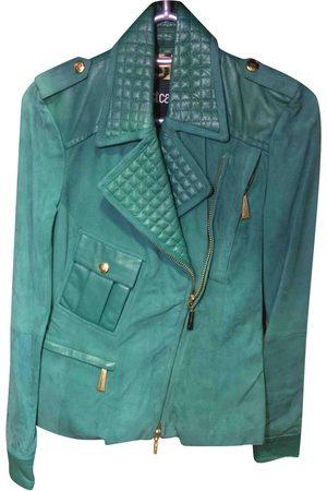 Roberto Cavalli Suede Leather Jackets