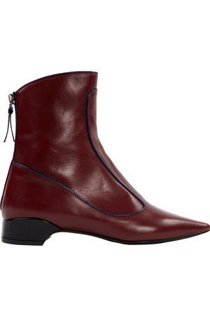 Fabrizio Viti Leather Ankle Boots