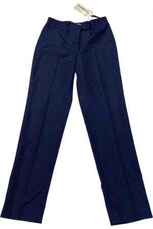 Miu Miu Polyester Trousers