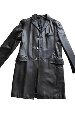 CLAUDE MONTANA Leather Coats