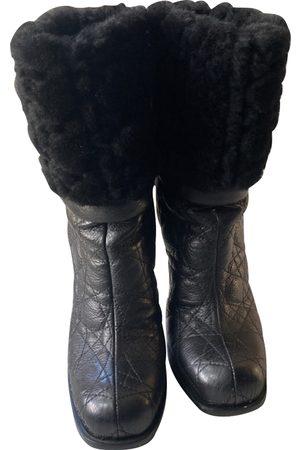 Dior Faux fur Boots