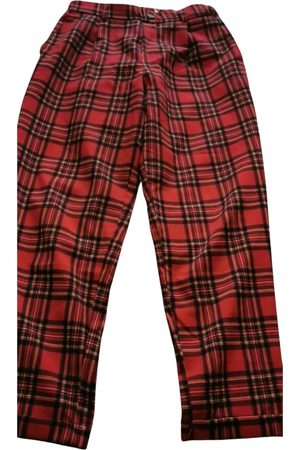 Pull&Bear Cotton Trousers