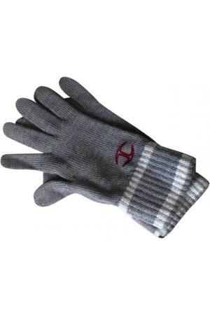 Roberto Cavalli Wool Gloves