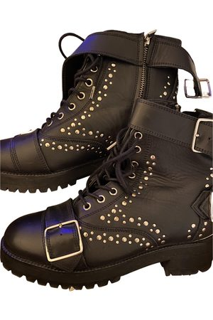 The Kooples Leather Ankle Boots