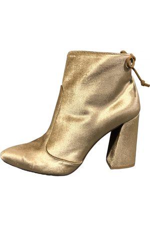 Stuart Weitzman Faux fur Ankle Boots