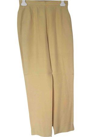 Inès de la Fressange Viscose Trousers