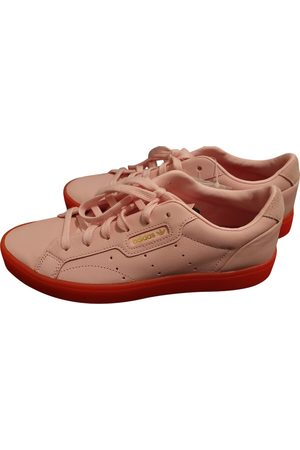 adidas Leather Trainers