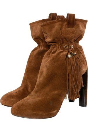 Céline Women Ankle Boots - Suede Ankle Boots