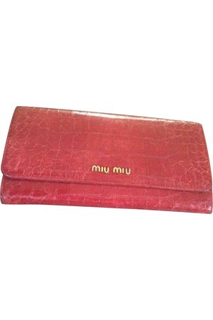 Miu Miu Women Wallets - Leather wallet