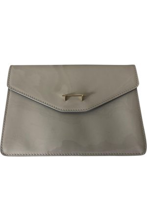 M2MALLETIER Patent leather Clutch Bags