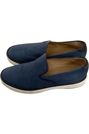 Hermès Suede Flats