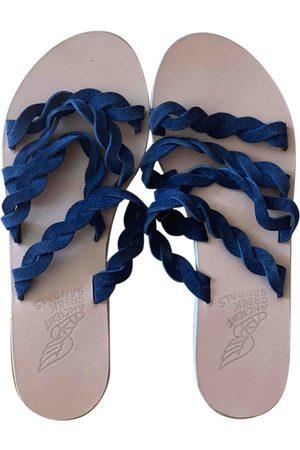 Ancient Greek Sandals Suede Sandals