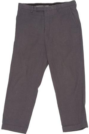 KRIS VAN ASSCHE Linen Trousers