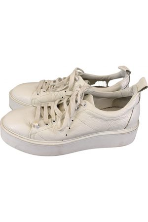 Morobé Leather Trainers