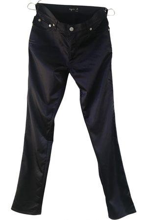 AGNÈS B. Viscose Trousers