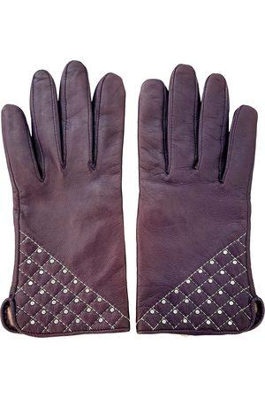 Swarovski Leather Gloves