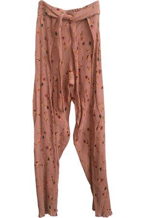 FAITHFULL THE BRAND Viscose Trousers