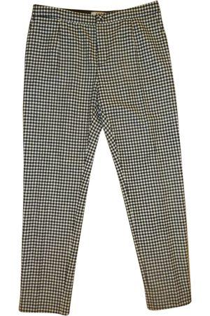 BOUCHRA JARRAR Wool Trousers