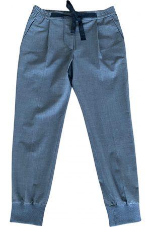 Brunello Cucinelli Wool Trousers
