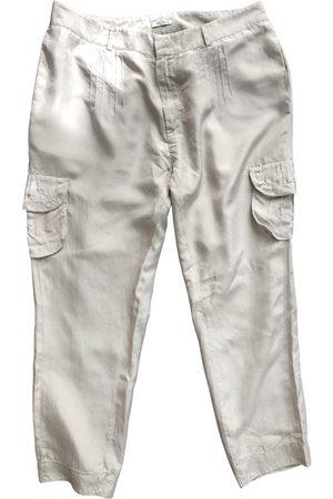 Miu Miu Silk Trousers