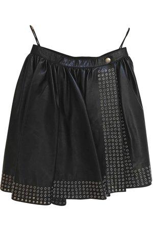 Alaïa Leather mini skirt