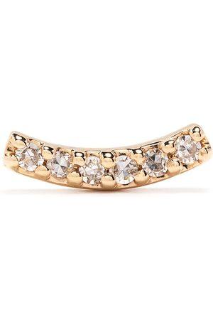 Maria Black 14kt yellow diamond Crescent stud earring