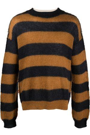 Marni Panelled design knitted jumper - Neutrals