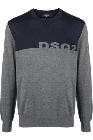 Dsquared2 DSQ2 two-tone jumper - Grey