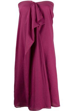 Maison Martin Margiela Women Strapless Dresses - 2000s ruffled detailing strapless dress
