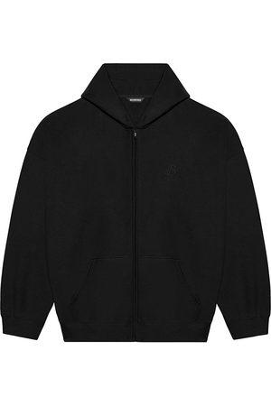 Balenciaga Hoodies - Zip-up cotton hoodie