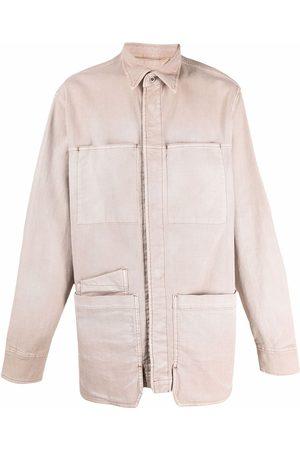 Diesel Long-sleeved cargo shirt - Neutrals