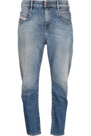 Diesel Fayza boyfriend-cut ankle jeans