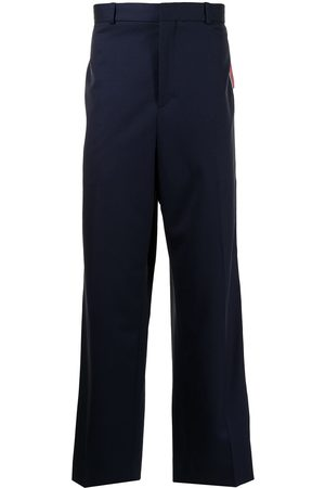 Charles Jeffrey Loverboy Stripe-detail straight-leg trousers