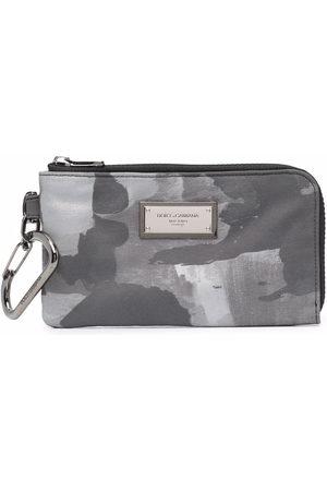 Dolce & Gabbana Printed zip-around wallet - Grey