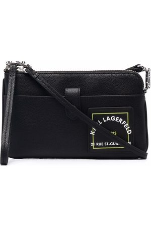 Karl Lagerfeld RSG patch phone pouch