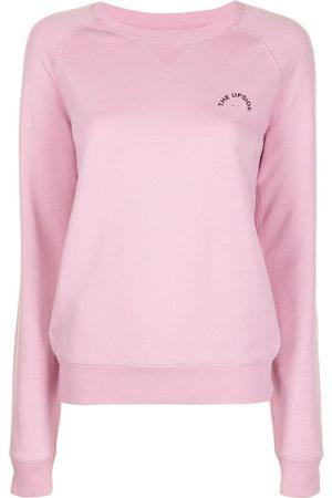 The Upside Women Sweatshirts - Logo-print sweatshirt