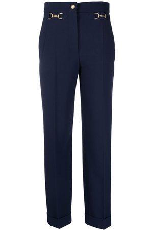 Moschino Women Skinny Pants - Equestrian-detail trousers