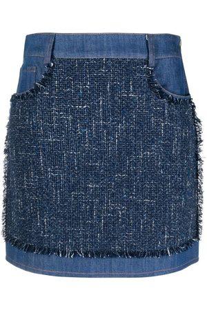 Moschino Slim-fit denim skirt