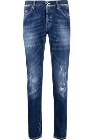 Dondup Men Skinny - Distressed slim-fit jeans