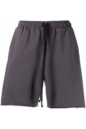 Alchemy Sports Shorts - All cotton track shorts - Grey