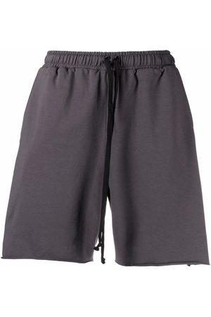 Alchemy Sports Shorts - All cotton track shorts - Grey