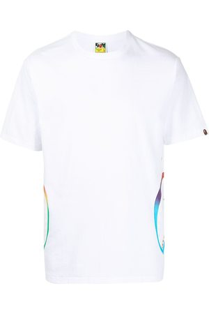 A Bathing Ape Men T-shirts - Shark teeth-print T-shirt