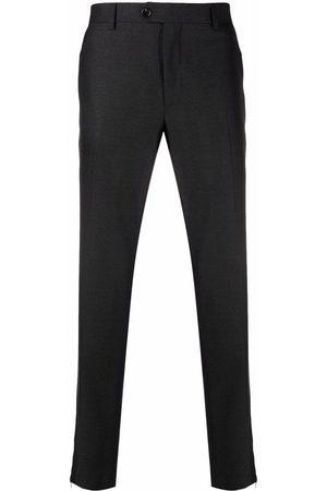 BILLIONAIRE Men Formal Pants - Slim tailored trousers - Grey