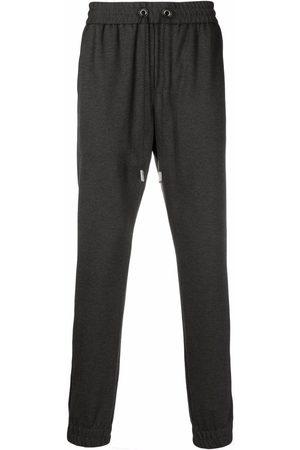 BILLIONAIRE Men Sweatpants - Logo-embroidered track pants - Grey