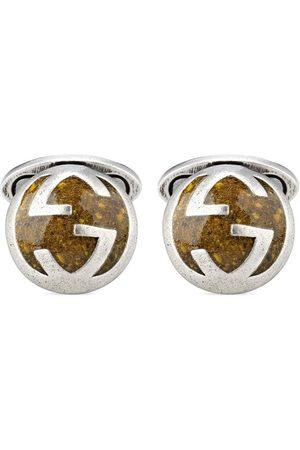 Gucci Interlocking G sterling cufflinks