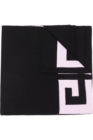 Givenchy 4G knitted wool scarf