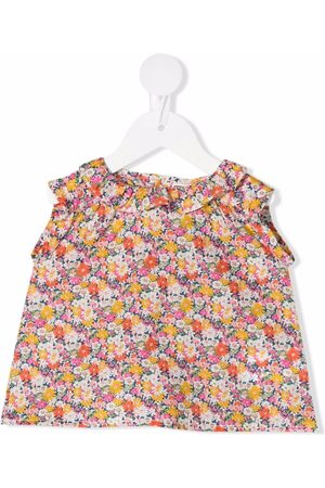 BONTON Tank Tops - Floral-print sleeveless top